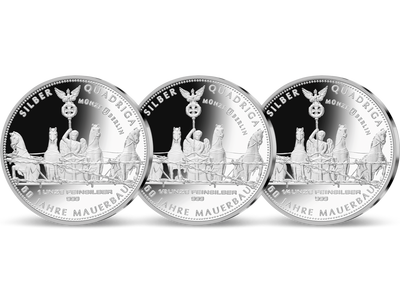 Silber-Quadriga 2021