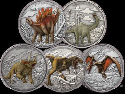 Niue 2020 'Dinosaurier Serie'