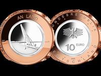 Bundesrepublik, An Land, 10 Euro, 2020 A, st