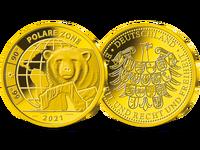 Polare Zone – die Gold-Ergänzungsprägung