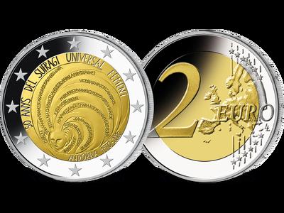 Andorra 2020: 2-Euro-Gedenkmünze