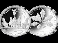 Silber-Quadriga 2021 1/2 Unze