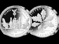 Silber-Quadriga 2021 1/4 Unze