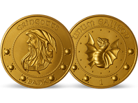 Frankreich 2021 - Offizielle Mini-Medaille