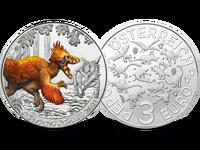 """""""3-Euro-Dino-Taler-Serie"""" – Super Saurier: Startlieferung """"Deinonychus"""""""