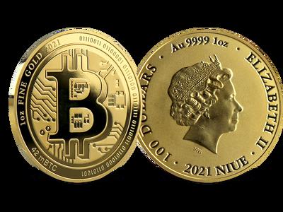 Niue 2021: 1 Unze Gold-Gedenkmünze