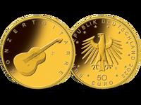 Bund 50 Euro Goldmünze Ausgabe 2022