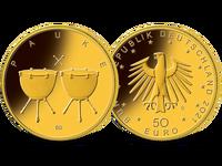 Bundesrepublik, Pauke, 50 Euro, 2021, st