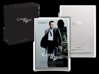 Das offizielle Filmplakat als Silbernote