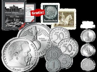 Die Original-Münzen des Deutschen Reiches 1933-1945