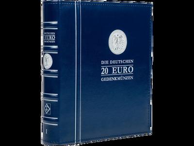 Das Album 'Deutsche 20-Euro-Gedenkmünzen' Band 1 zur optimalen Aufbewahrung der 20-Euro-Gedenkmünzen!