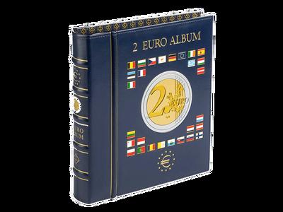 Münzen-Album für 2-Euro-Gedenkmünzen inkl. 4 Münzblättern