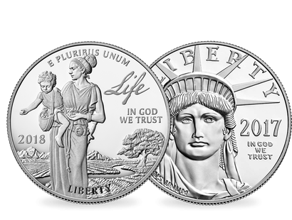 USA 2018 1 oz Platin ''American Eagle''