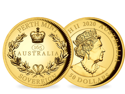 "Australien 2020 ""Gold Sovereign"""