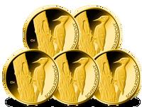 Deutsche 20-Euro-Goldmünze 2021