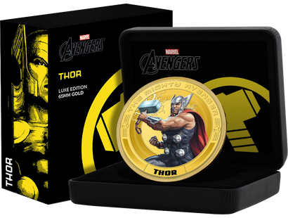 "Thor – in der ""65 mm Gold-Luxus-Edition"""