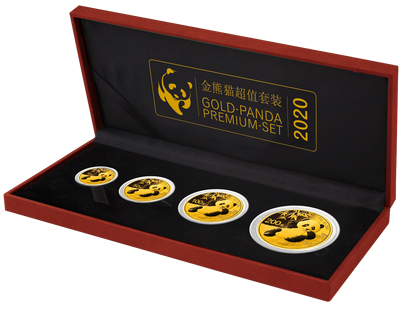 "China ""Gold-Panda Set"" 2020"