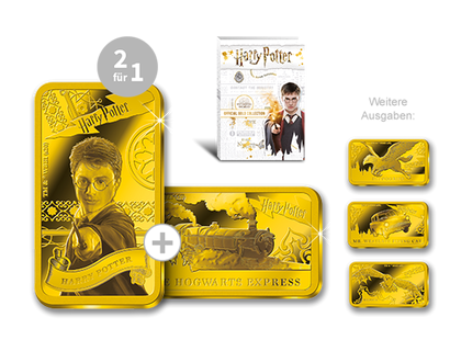 "Die ""Harry Potter""-Goldbarren-Kollektion!"