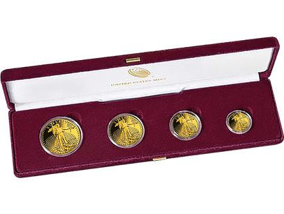 "USA 2020 ""Gold-Eagle Set"""