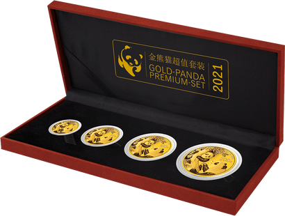 China: Gold-Panda-Premium-Set 2021