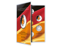 Sammelalbum für die deutschen Gedenkmünzen 2021