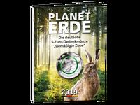 Komplett-Satz 5-Euro-Münze 2019 – Stempelglanz in Sammelmappe