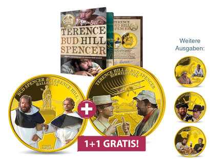 Die offizielle GOLD-Edition Terence Hill & Bud Spencer