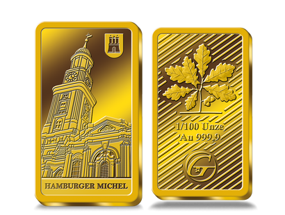 "Goldbarren ""Hamburger Michel"""