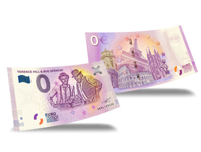 "0-Euro-Banknote ""Terence Hill & Bud Spencer"""