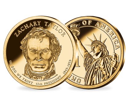 12. US-Präsidenten Dollar 'Zachary Taylor'