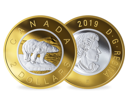 "Kanada 2019 ""Big Coin"" -Serie ""Polarbär"""
