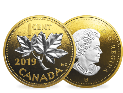 "Kanada 2019 ""Big Coin"" -Serie ""1 Cent"""