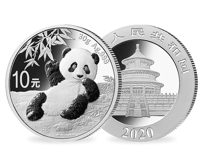 China - Silber-Panda