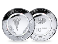 Komplett-Satz 10-Euro-Münze 2019  – Polierte Platte