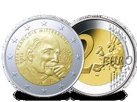 Frankreich 2016 2 Euro Francois Mitterand Cu/Ni PP
