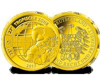 Tropische Zone – die Gold-Ergänzungsprägung