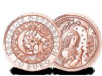 Österreich 2017 10-Euro-Münze