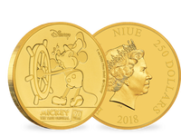 Niue 2018 Gold-Gedenkmünze