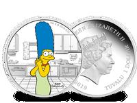 Tuvalu 2019 ''Marge Simpson'', Ag (999,9/1000), 31,1g, PP