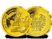 Subpolare Zone – die Gold-Ergänzungsprägung