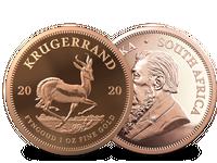Südafrika 2020: Krügerrand-Goldmünze, 1 Unze, PP
