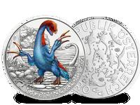"""Einzelangebot: Österreich 2021: 3-Euro-Dino-Taler """"Therizinosaurus"""""""