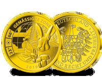 Gemäßigte Zone – die Gold-Ergänzungsprägung