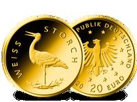 Deutsche 20-Euro-Goldmünze