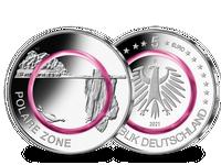 5-Euro-Münze 2021, Prägezeichen D – Stempelglanz