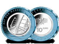Deutschlands 10-Euro-Münze 2021, Prägezeichen D – Stempelglanz