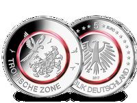 Bundesrepublik, Tropische Zone, 5 Euro, 2017 A, st