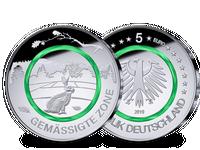 5-Euro-Münze 2019, Prägezeichen A – Stempelglanz
