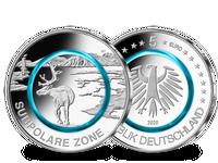 5-Euro-Münze 2020, Prägezeichen F – Stempelglanz
