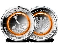 Komplett-Satz 5-Euro-Münze 2018